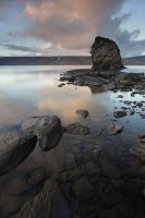 Around the lake,  Iceland by Brettc