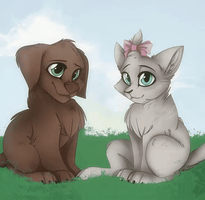 Poochee And Pansy GIF | Fan Art-GIF by Mipop1908