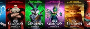 Rise of The Guardians Latest Character Posters by EspioArtwork31