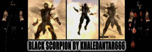 Black Scorpion By khaledantar666 (Steam Patched) by DJ7493
