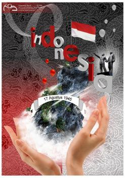 Independence Day for Indonesia by tudelinkbrother