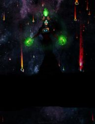 Rabbit the Final Boss of The Void by thelovelyfreak