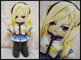 Celia Cumani Aintree Plushie by renealexa-plushie