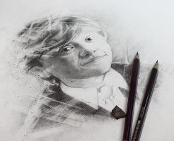 Ron Weasley sketch by Michelle-Winer