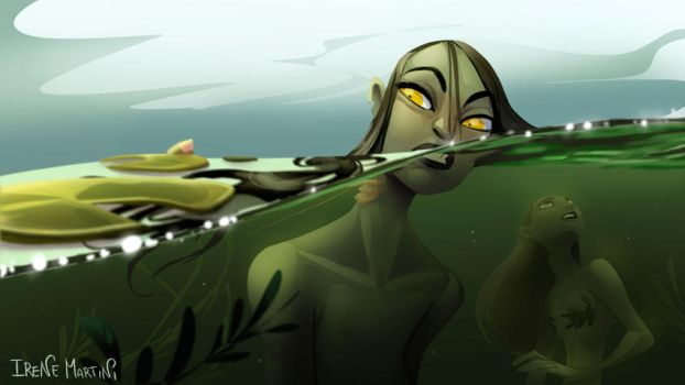 Mermay - In the pond by IreneMartini