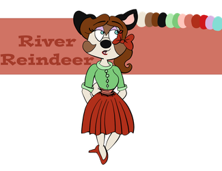 River Reindeer 2018 Reference Sheet by Fawnadeer