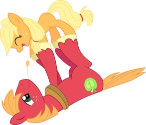Even Earthponies can fly - Vector by Leo-17-0-2