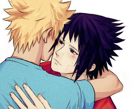 :Your scent-NaruSasu: by Mishune