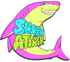 SHARK ATTACK (PRINT AVAILABLE FOR PURCHASE) by gurobaka
