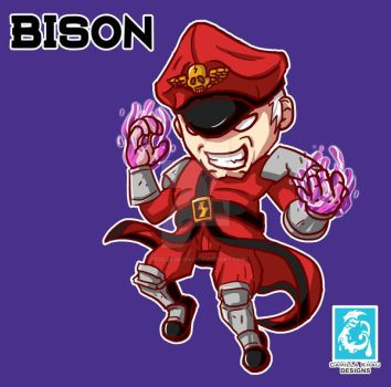 Street Fighter V -  M.Bison [Maplestory Style] by RedCaliburn