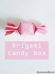 Origami Candy box by Artcrown