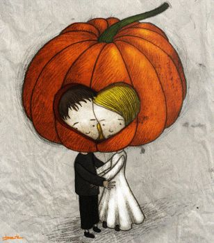 pumpkin love by berkozturk