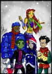 Titans Christmas by Gretlusky