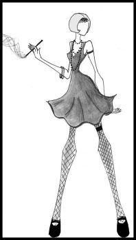Flapper Couture. by Not-A-Prodigy