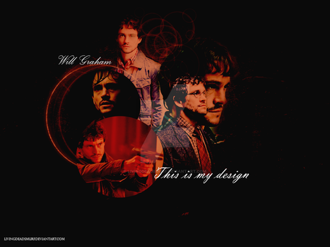 Will Graham Wallpaper by LivingDeadSmurf