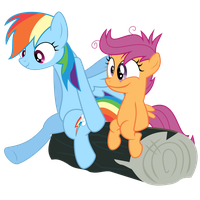 Dash and Scoots by V0JELLY