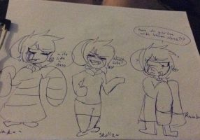 In people's cloths idk XD by Di-et-Cok-e