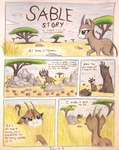 Sable Story - Page 1 - Uganda's Quest by TheFriendlyElephant