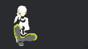 Konoha (Mekaku City Actors) Minimalist Wallpaper by greenmapple17