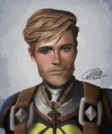 Commission: John Harlay by HalChroma