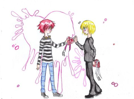 Happy Valentines Day, Mello by Kokkii-Chan