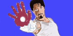 Tony Stark - WIP2 by Wicked-Pirate-Queen