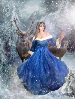 The Snow Queen by anais-anais61