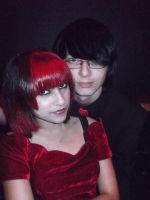 Me and my girlfriend at prom by The-Avaricious