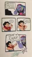 SU - Punny by WickedGhoul