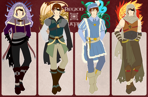 RoN: Silas Region Outfits by Lutroxical