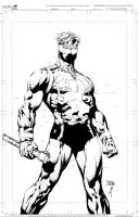 Captain Britain 2 Commission by JonathanGlapion