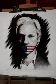 Assange by firestormfilms