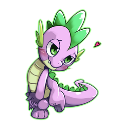 spike loves by Riza23