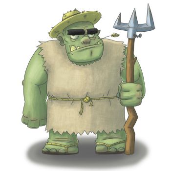 Peasant Ogre by PicassoProtege