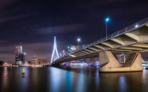 Erasmus bridge by TomazKlemensak