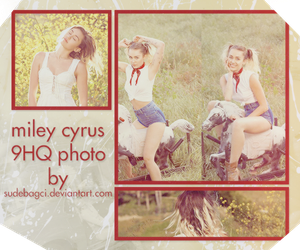Miley Cyrus PHOTOPACK ! #23 by SudeBagci