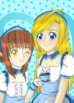 Maids in Hyrule by bunny-bexell