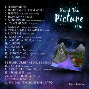 Paint The Picture Track List by KlocODeath