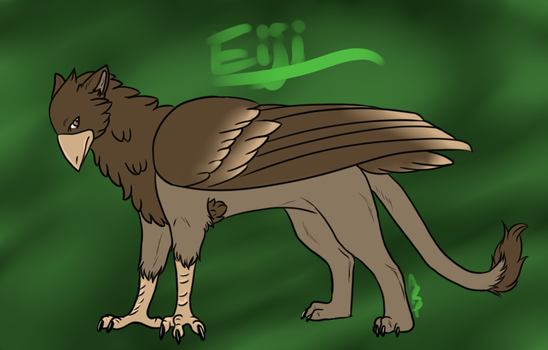 Eiji - The Fading Protector by littlezombiesol