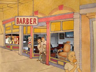 Skipper - The Barber Shop by ibnelson