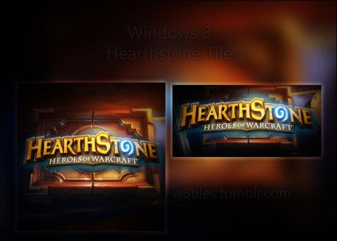 Hearthstone Windows 8 Tile by DirTek