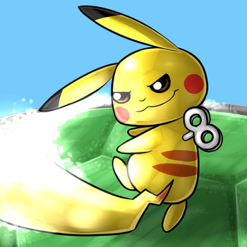 Rumble Pikachu used Iron Tail by SinLigereep