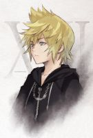 Kingdom Hearts Roxas by KomorebiAmaya
