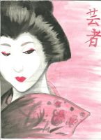 Geisha by TheOneAndOnlyQueen