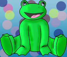 Funny Frog by froggy2589