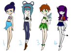 Adoptable Batch - CLOSED by Blithe-Adopts
