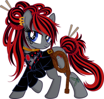 Dark Lashes (with whip) by tygerbug
