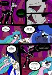 Ponynomicon : La chute de Fallen~page 3 by DrSGrowth