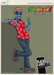 Fred the zombie by eidrien
