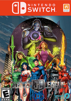 Justice League on Nintendo Switch Couv by LOrdalie